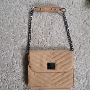 BCBG Quilted Chain link purse